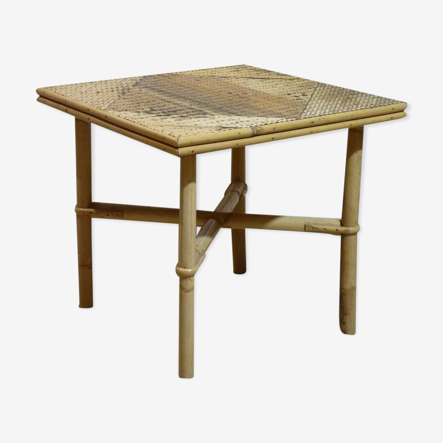 Or extra square rattan coffee table