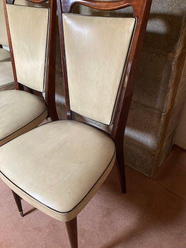 Lot de 6 chaises marque Monobloc