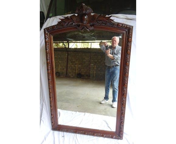 Miroir Louis Philippe XIXème siècle 96x151cm