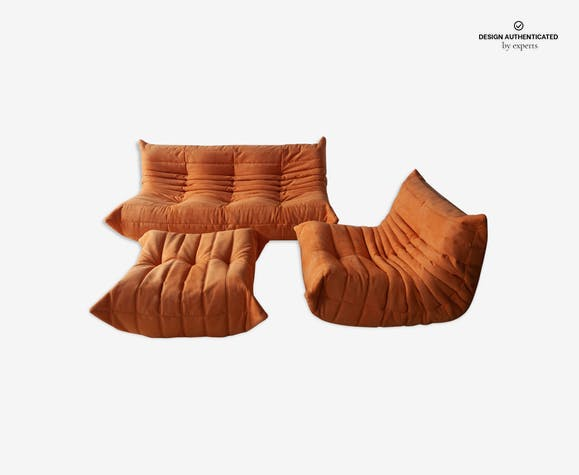 Togo sofa, armchair and ottoman by Michel Ducaroy for Ligne Roset