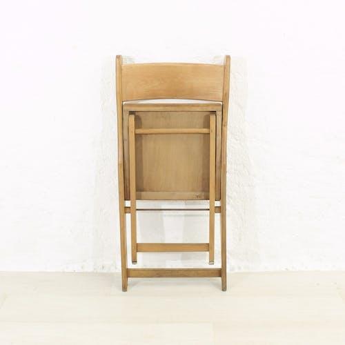 Chaise pliante vintage