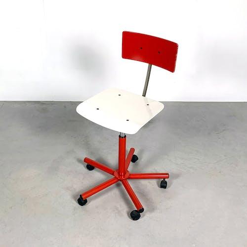 Chaise de bureau Teens par Anna Anselmi pour Bieffeplast, 1980