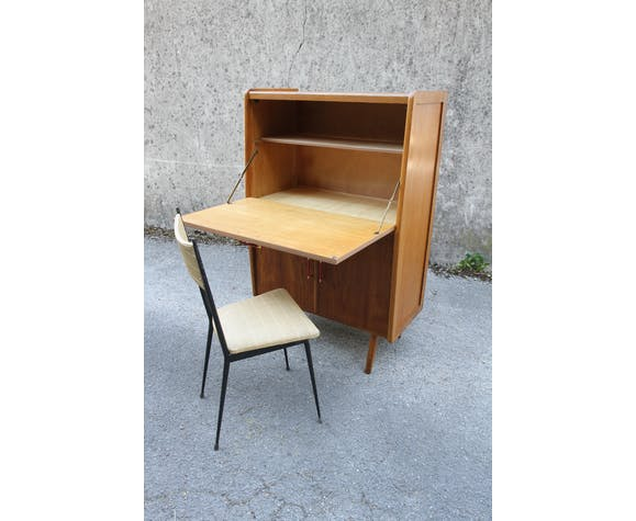French vintage writing desk of the 1950s