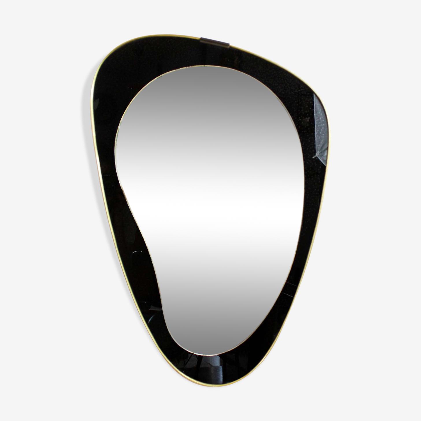 Free form mirror  72x48cm