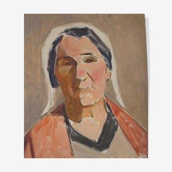 Portrait de femme Guillot de Raffaillac, 1930