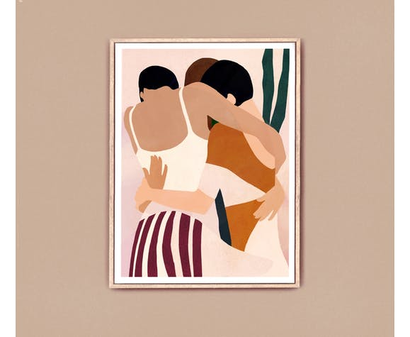 Giclée art print | Better Together