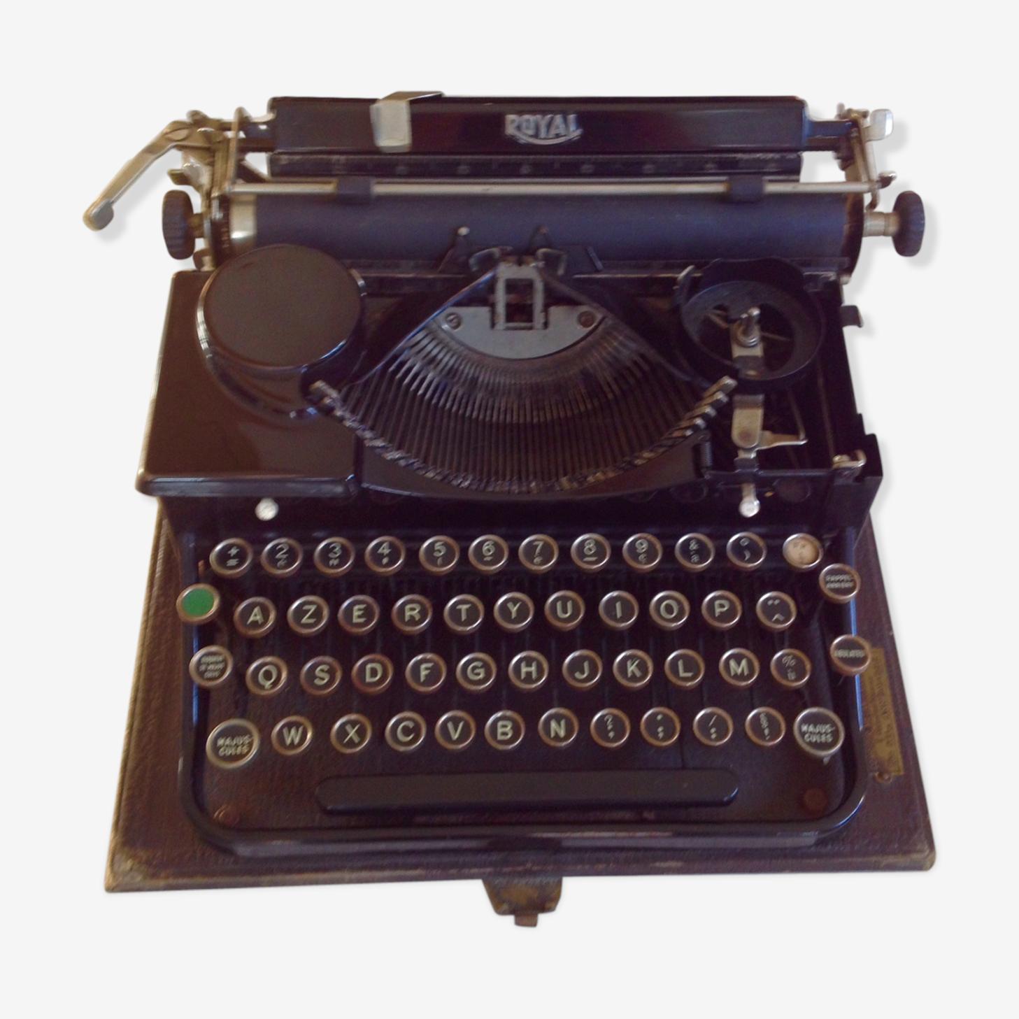 Machine à écrire Royal 1905
