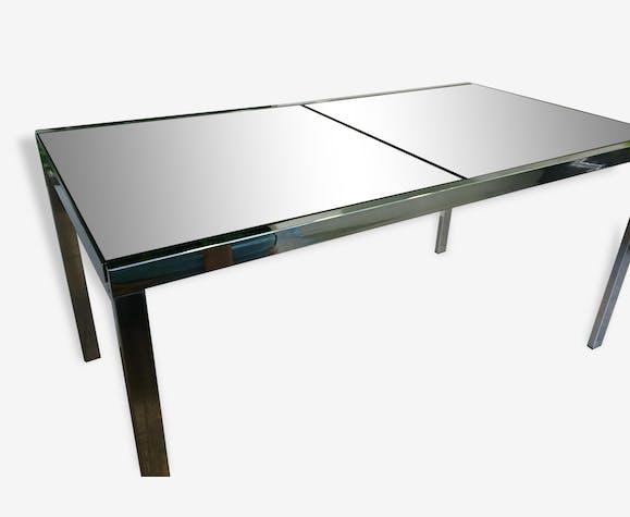 table italienne de salle manger des annes 70 - Table Design Italienne