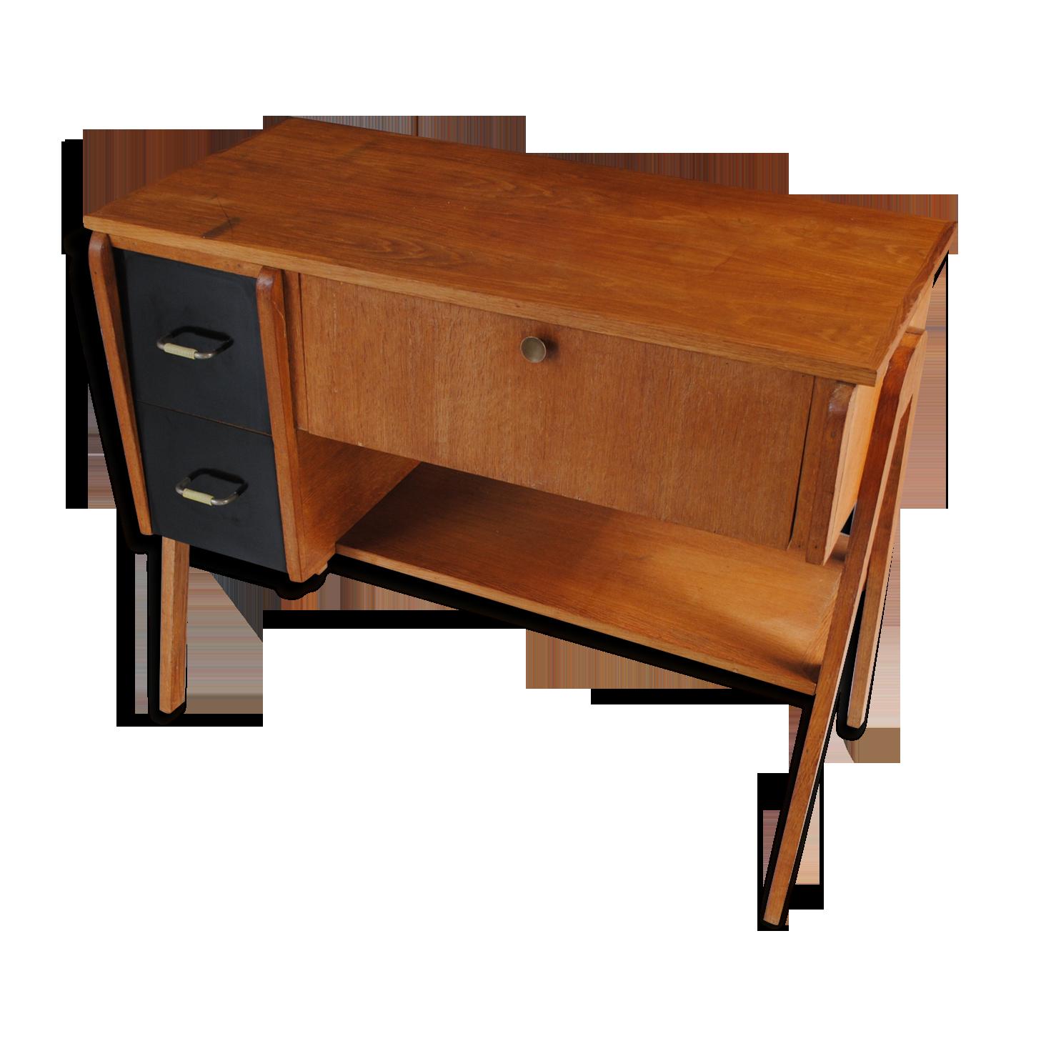 Bureau meuble de rangement année bois matériau bois