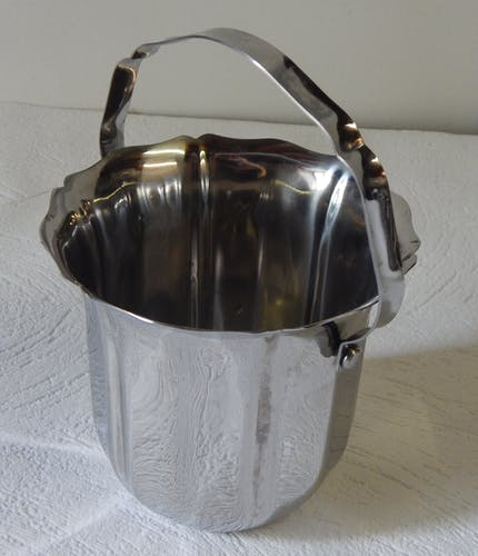 Stainless steel ice bucket Guy Degrenne