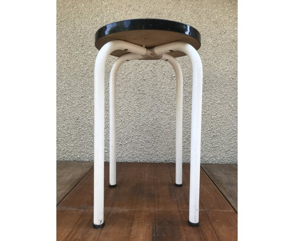 Formica blue stool