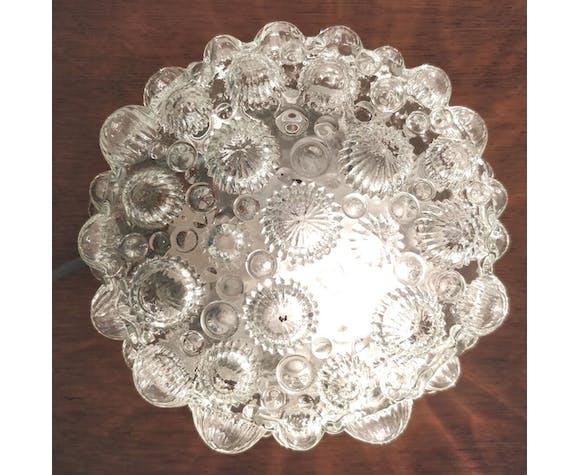 Vintage glass bubble ceiling light