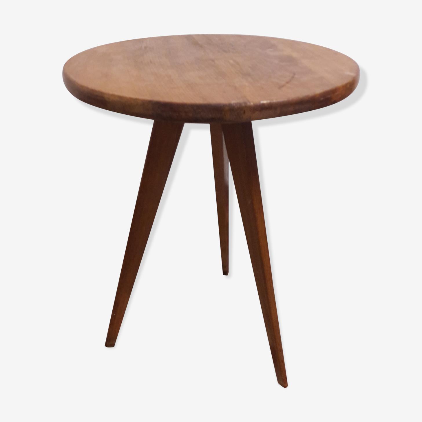 Table gueridon tripode