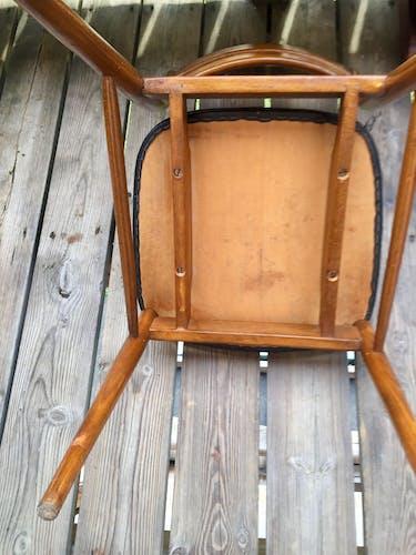 Suite de 4 chaises scandinaves