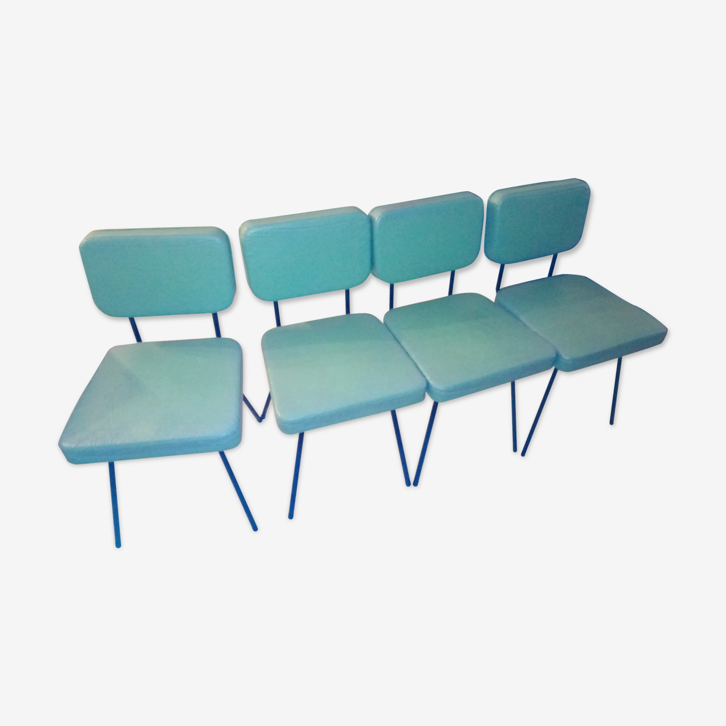 4 chaises Airborne, André Simard