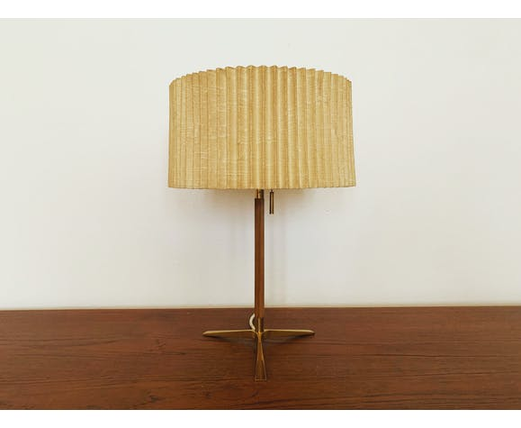 Lampe de table en laiton J.T. Kalmar