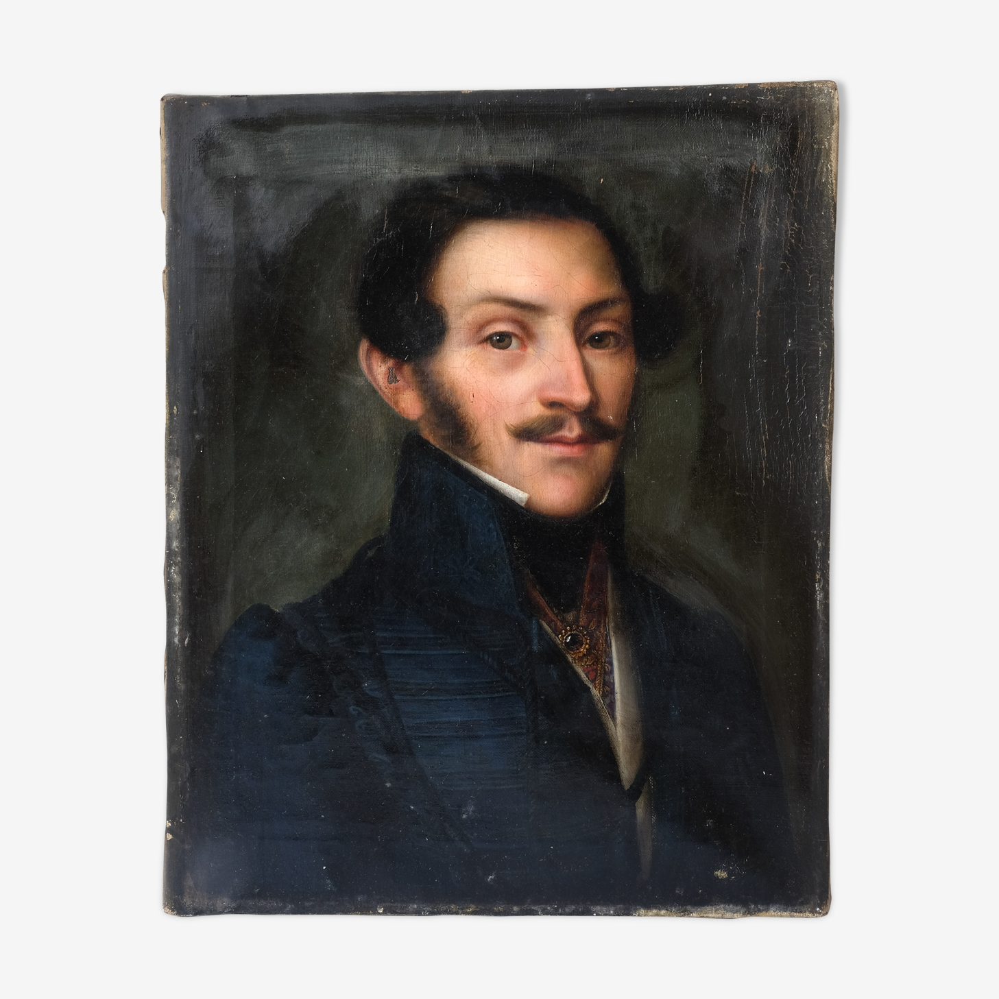Portait of man with the mustache 19th