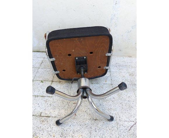 Fauteuil de bureau vintage atelier industriel