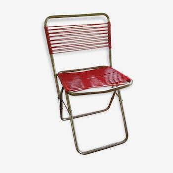 Chair child scoubidou