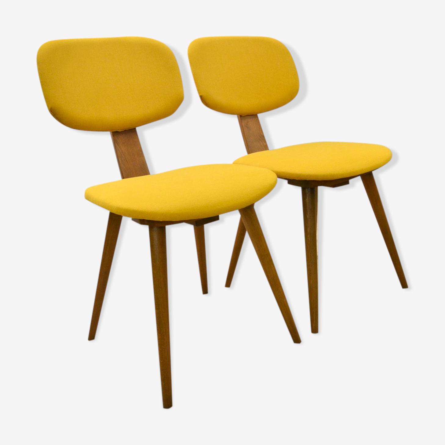 Chairs by  Fameg Radomsko 1960s