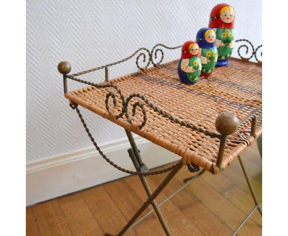 Petite Table D Appoint Pliante Vintage Selency