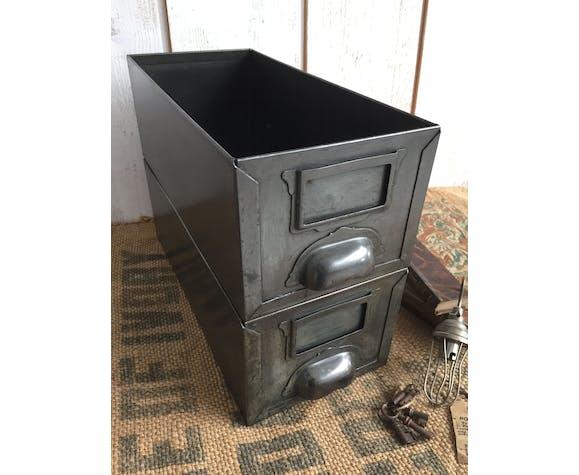 Pair of industrial drawers