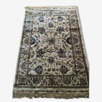 Authentic Turkish rug ivory, 120 x 170
