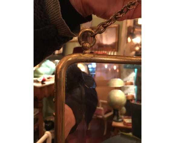 Beveled mirror 1920 -  24x33cm