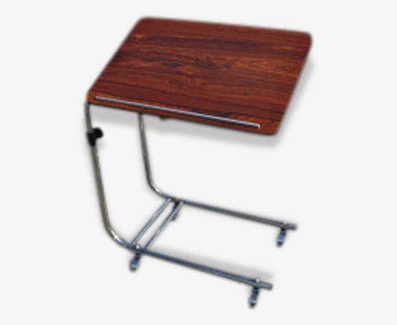 table desserte de lit bout de canap roulettes. Black Bedroom Furniture Sets. Home Design Ideas