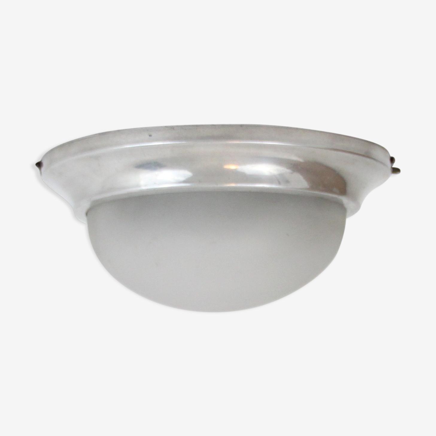 Applique plafonnier verre et aluminium décoration
