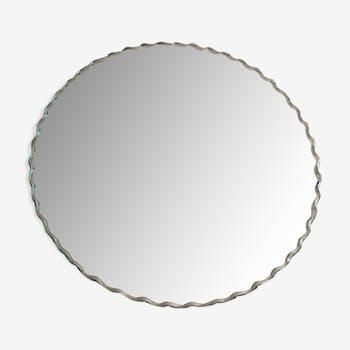 Miroir biseauté rond - 32cm