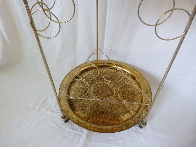 Golden serving table 1960