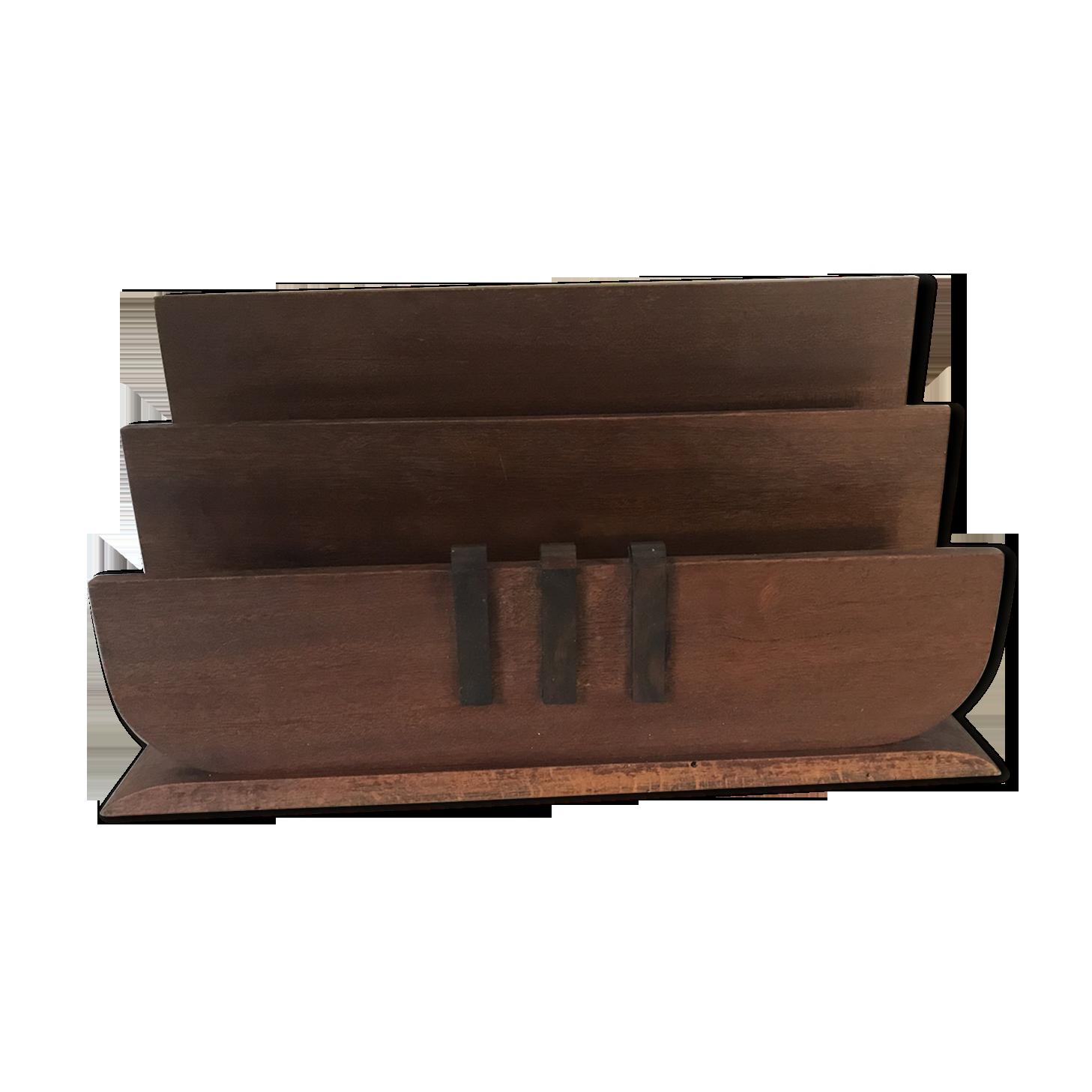Zeller 2057134 Trieur de courrier 17x8x13,5cm en Anthracite Autre