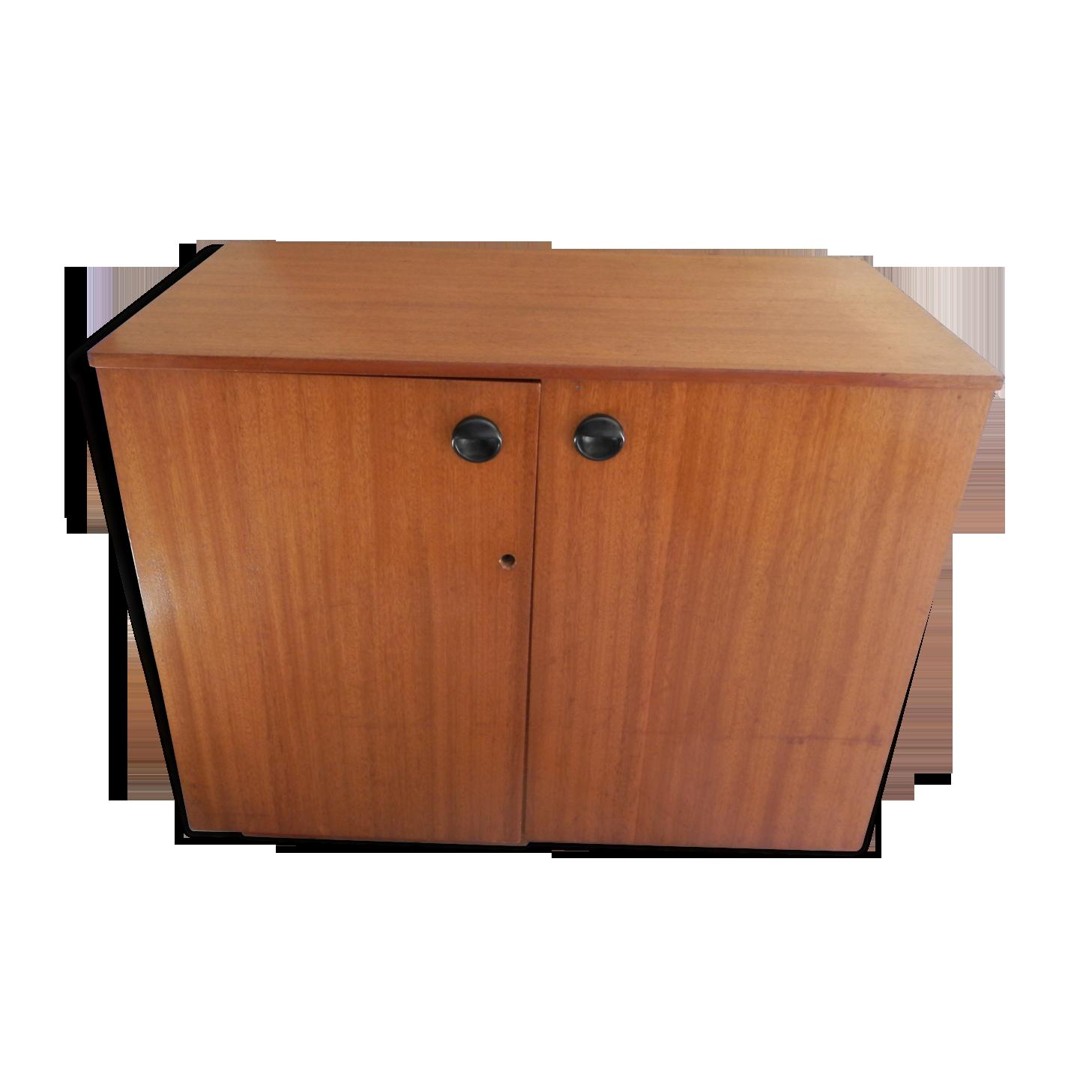 Meuble bureau en teck anglais teck bois couleur vintage