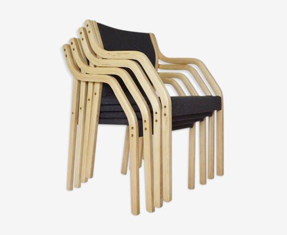 Lot de 4 chaises de salle à manger 4550 par Gražina Tulevičienė pour Šiaulių Ventos Baldų Fabrikas