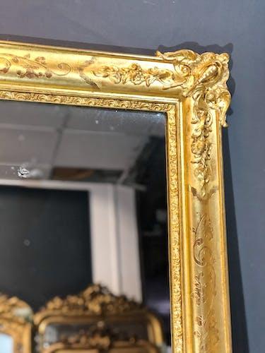 Miroir 120x90 époque restauration 1820