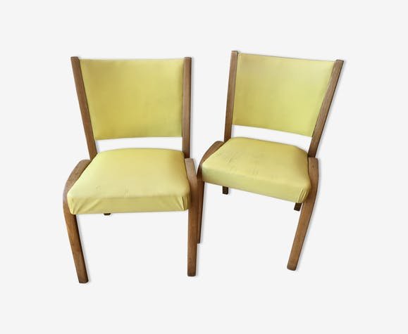Paire chaises Steiner Bow-Wood