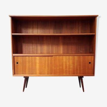 s paration de pi ce biblioth que en bois des ann es 60 bois mat riau bois couleur. Black Bedroom Furniture Sets. Home Design Ideas