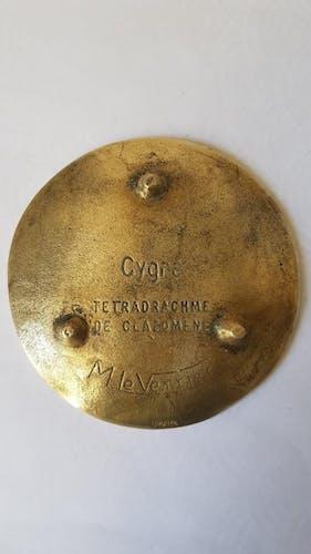 Cendrier cygne en bronze Max Le Verrier