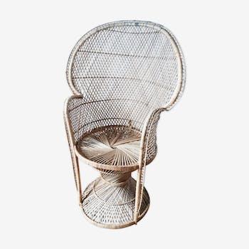Emmanuelle adult rattan armchair