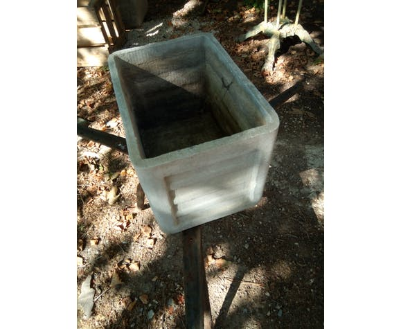 Lot of 15 planters from the 50 fibrociment, sneezes