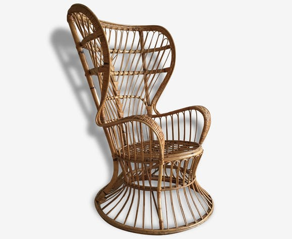 Gio Pour Fauteuil Bonacina Rotin Ponti Lounge En Chair W9IYHD2eEb