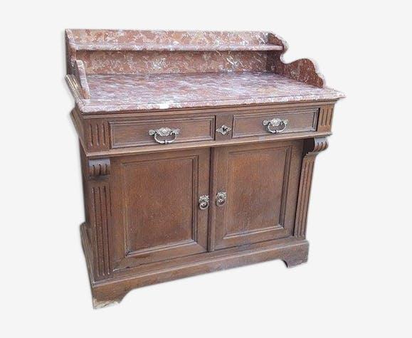 Meuble de salle de bain de la fin du XIXème - bois (Matériau ...