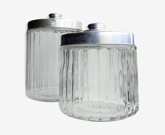 Bocaux en verre couvercles en alu