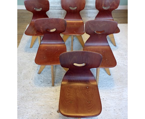 Chaises Pagholz Schulmöbel