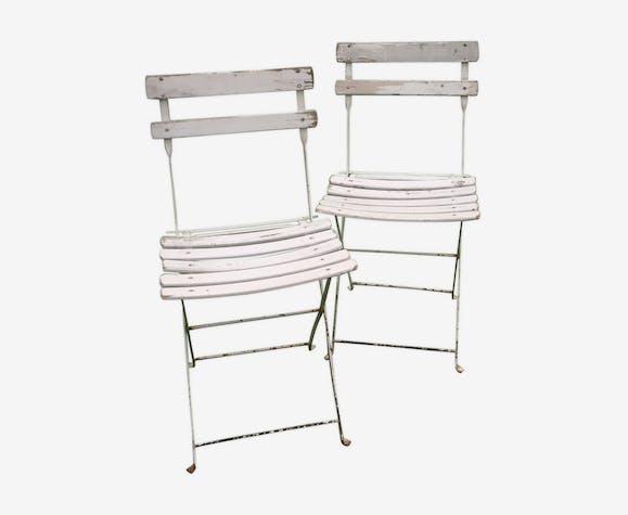 Lot 2 chaise de jardin