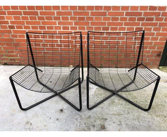Fauteuils Jarpen vintage Niels Gammelgaard pour Ikea set of two