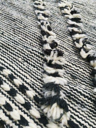 Tapis berbere kilim en laine 310x190 cm