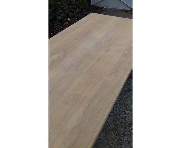 Table de ferme en chêne massif