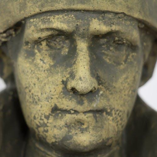 Buste antique Napoléon Bonaparte pierre coulée
